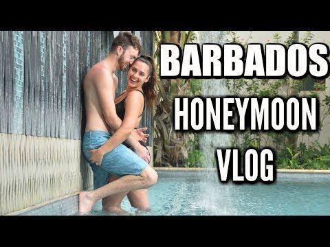 BARBADOS HONEYMOON VLOG! Sandals Royal Barbados