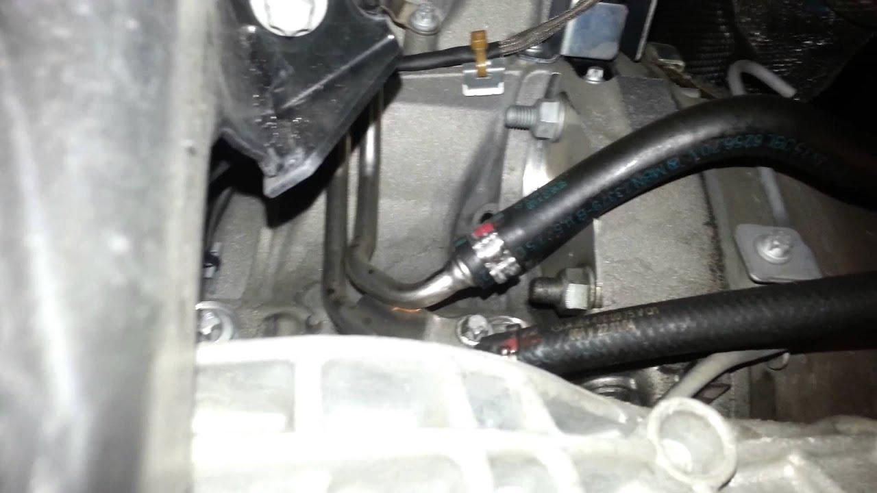 2000 dodge ram transmission leak bellhousing