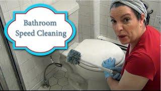 Bathroom Speed Cleaning