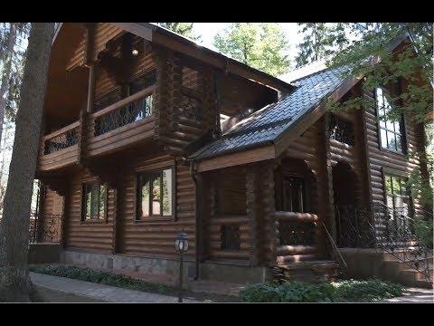 Деревянный дом в лесу ИЖС/2-х этажный дом 250 кв.м. с участком в с. Абрамцево Сергиево-Посадский р-н
