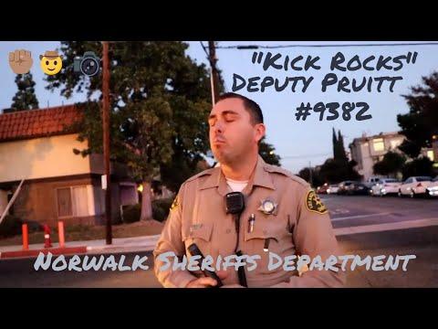 Verbal Altercation w/ Norwalk Sheriffs - First Amendment/Copwatch