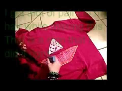 how to make a mabel inspired sweater diy - youtube - Weie Mbel Weie Wand