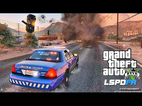 LSPDFR #545 SHERIFF K9!! (GTA 5 REAL LIFE POLICE PC MOD) SIN