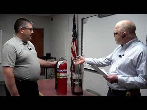 Fire Extinguishers in schools