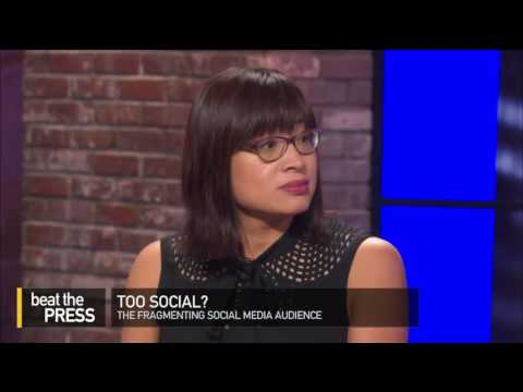 Beat The Press: Too Much Social Media?