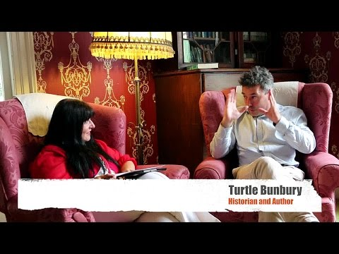 Turtle Bunbury interview at the Immrama Lismore Festival of Travel Writing  2016