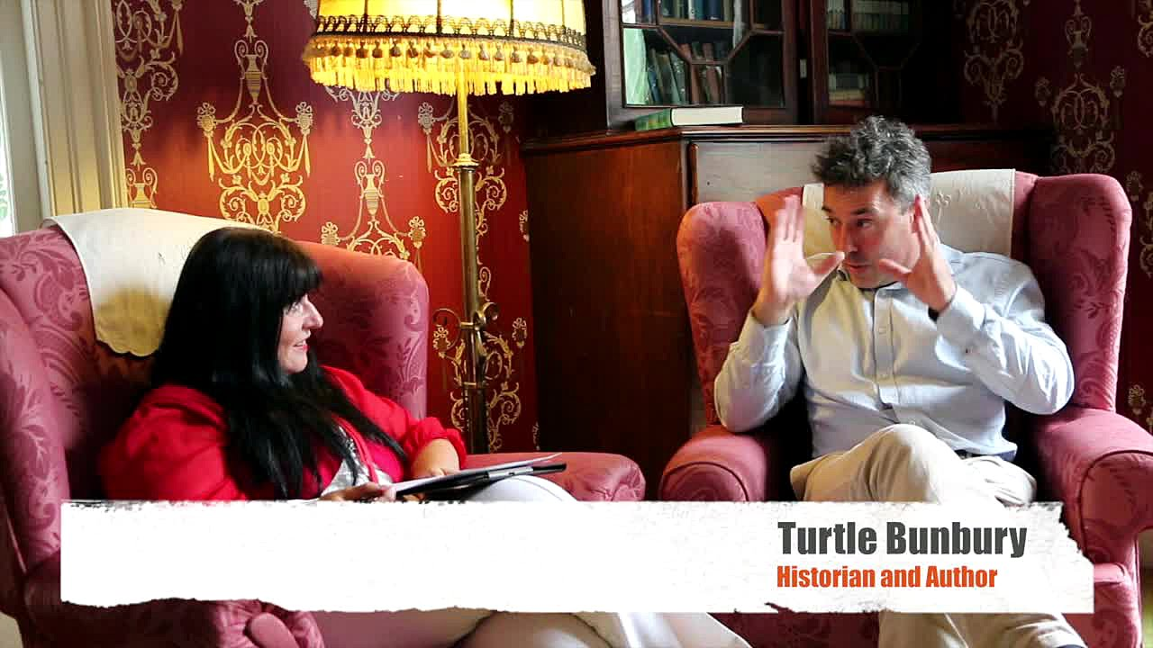 Turtle Bunbury - Award-winning travel writer, historian and