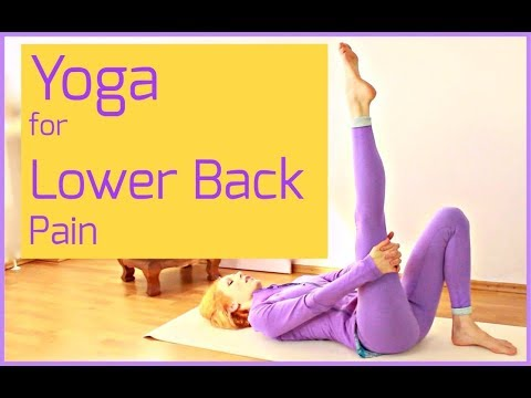 yoga for lower back pain  easy 15 minute sequenceyoga