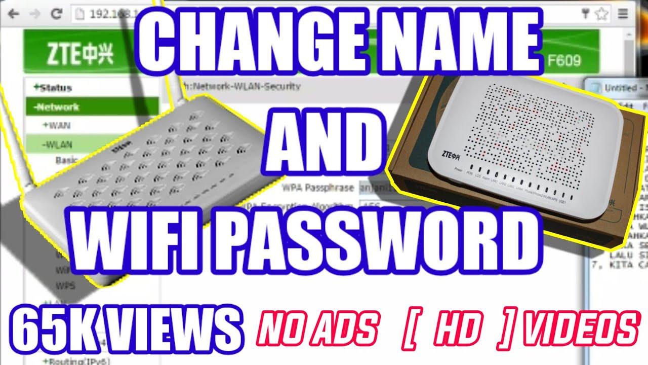 √ 3 Cara Ganti Password WiFi (Tp-Link, ZTE, Huawei, Indihome)