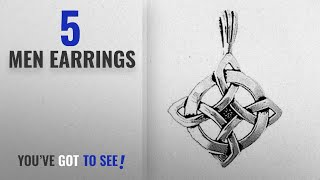 """Element Earrings [ Winter 2018 ]: 925 Sterling Silver Jewelry Charming Celtic Knot """"Ulbster Luck"""""""