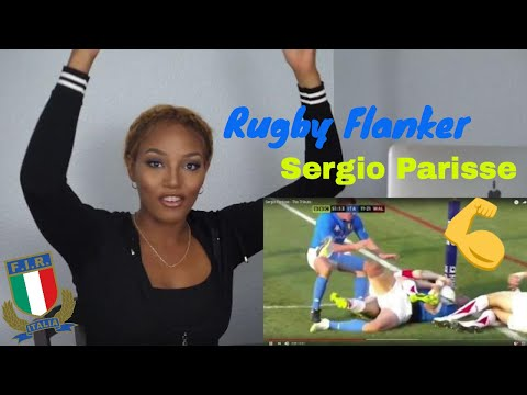 The Best of Sergio Parisse, Rugby Powerhouse Hits & Highlights Reaction