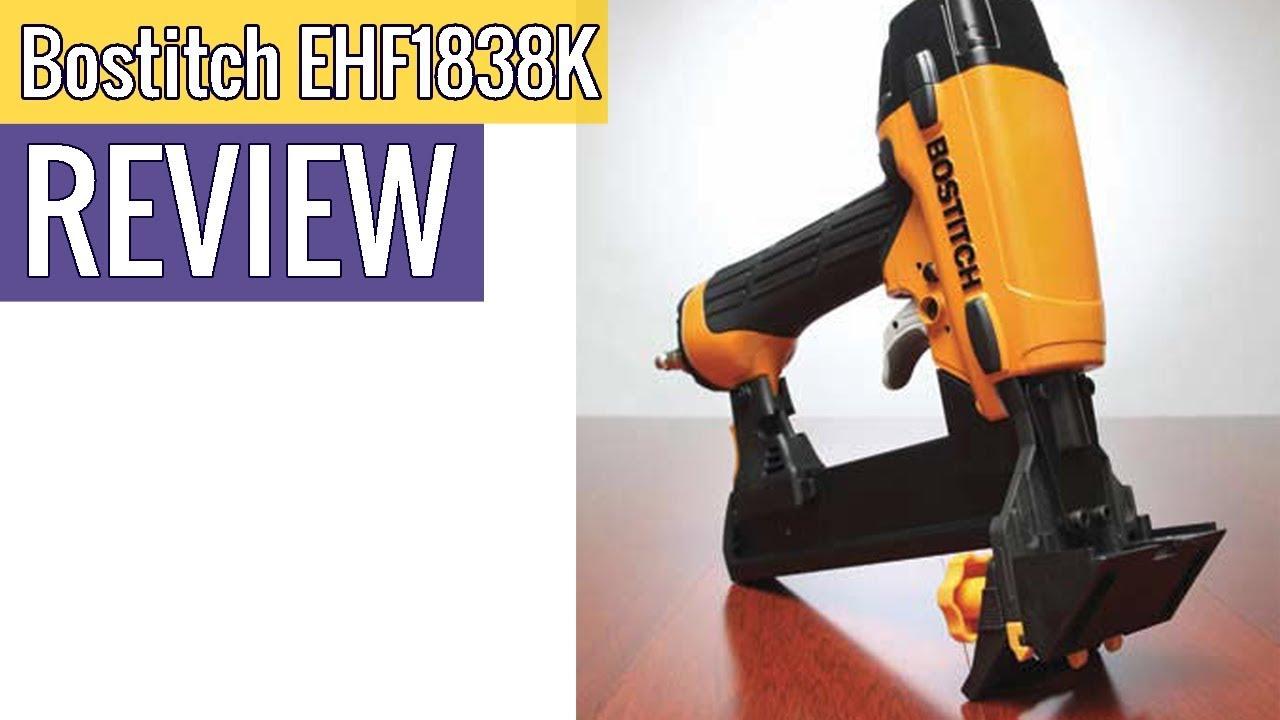 BOSTITCH EHF1838K Engineered Hardwood Flooring Stapler