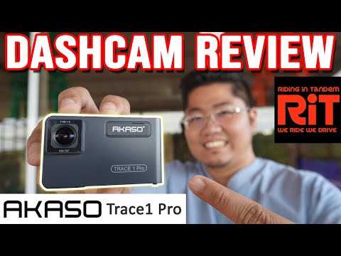 AKASO Trace1 Pro Review : Dashcam Philippines