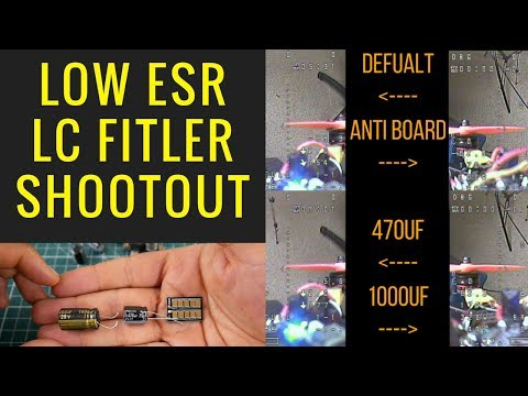 LOW ESR vs LC Filters Shootout Part 1 // Rubycon 470uF , Panasonic 1000uF, Anti-Interference 470uF