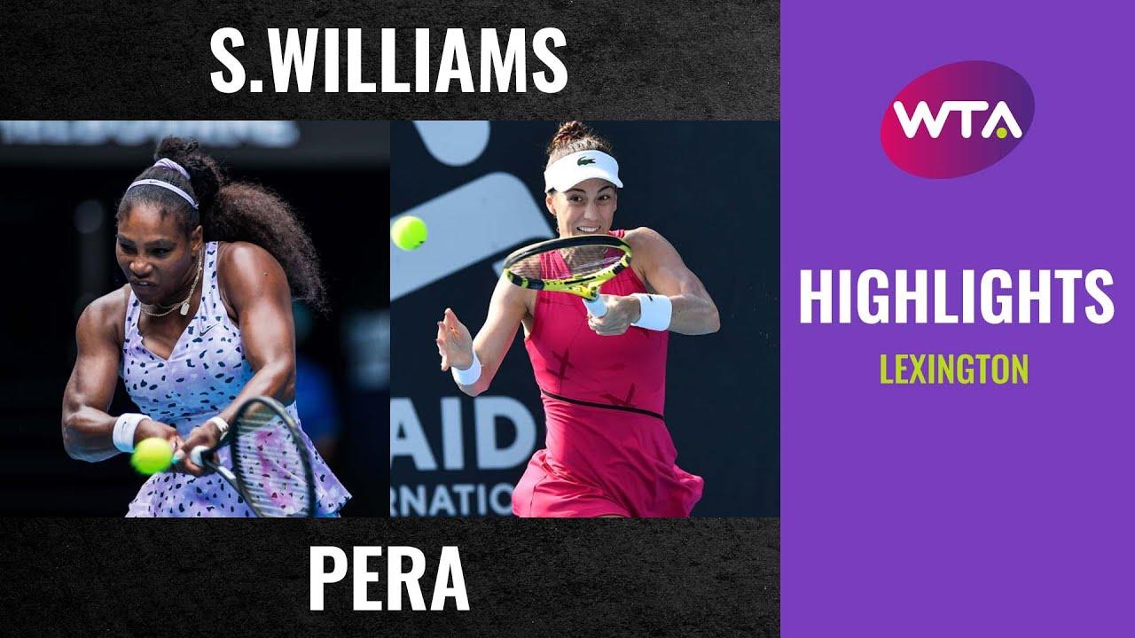 Download Serena Williams vs. Bernarda Pera   2020 Lexington First Round   WTA Highlights