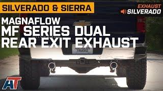 2014-2018 Silverado & Sierra Magnaflow MF Series Dual Rear Exit 5.3L Exhaust Sound Clip & Install thumbnail