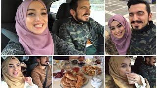 VLOG | EŞİMİN AİLESİNE ZİYARET - PAZAR KAHVALTISI - İZMİR KONAK'DA GEZDİK | #herşeyaşkla