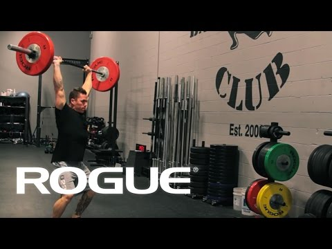 Movement Demo - The Power Clean And Jerk