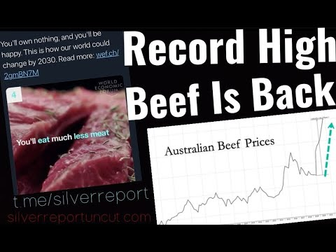 Australia's Beef Prices Soar To Record High, Export Sales Collapse 25% Amid Rapid Food Inflation