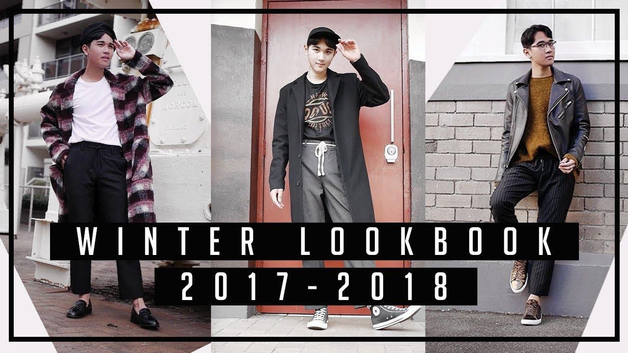 Winter Fall Lookbook 2017 2018 Men 39 S Fashion Youtube