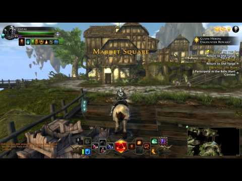 Neverwinter Gameplay Xbox One Level 45 Oathbound paladin pirates skyhold Part 2