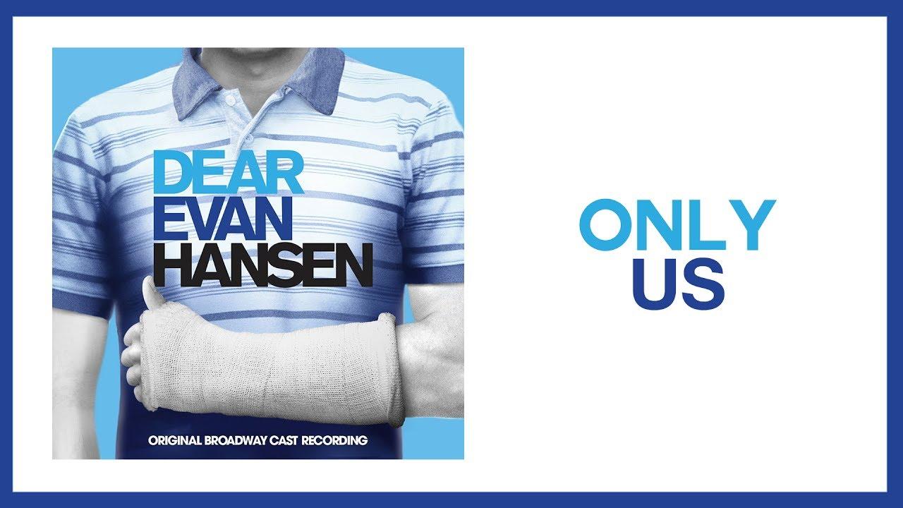 only us dear evan hansen sheet music pdf
