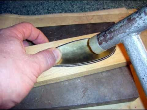 Making Casting Spoon Blanks From Metal Sheet