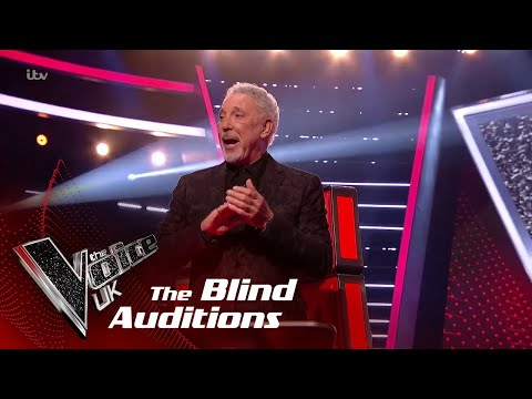 Tom Jones Performs 'A Whole Lotta Shakin': Blind Auditions  The Voice UK 2018