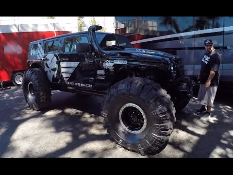 chop top Jeep by Black Ops 4x4 :Offroad Expo - YouTube