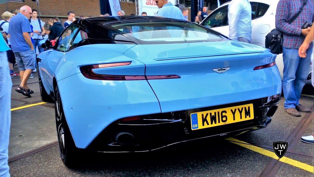 NEW 2017 Aston Martin DB11 Coupe REVS! Exhaust SOUND!