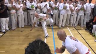Stage Capoeira Senzala 10 ans Longlaville la grande ronde de samedi matin 19 03 2016