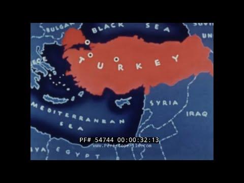 REPUBLIC OF TURKEY   ISTANBUL, ANKARA, BURSA  1950s TRAVELOGUE & HISTORY FILM 54744