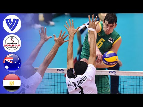 Australia Vs. Egypt - Full Match   First Round   Men's Volleyball World Cup Japan 2015