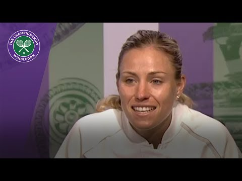Angelique Kerber Wimbledon 2017 first round press conference