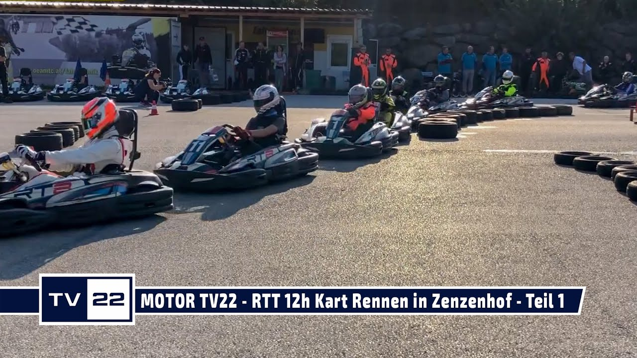 MOTOR TV22: RTT 12h Kart Rennen in Zenzenhof am 12.09.2020 - Teil 1