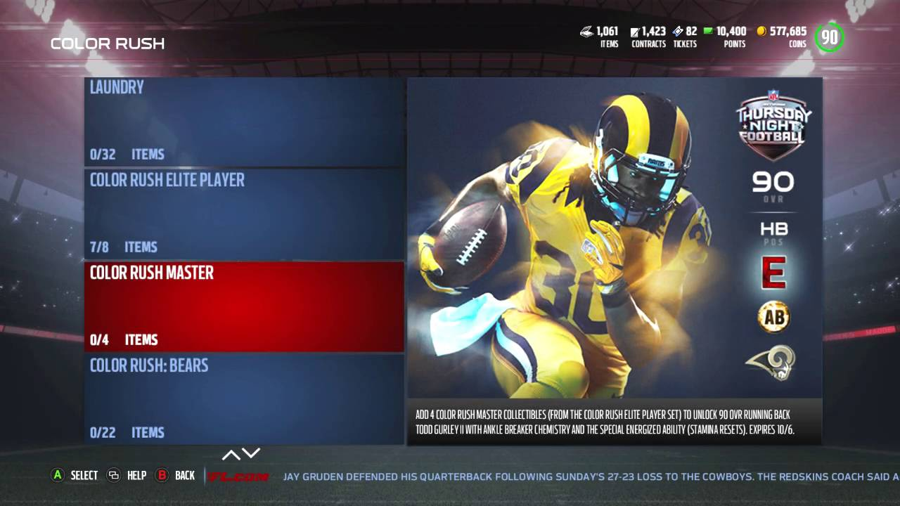 new style b429f 0c016 Madden 17 Ultimate Team :: Color Rush Elite Player Pack Opening! :: Madden  17 Ultimate Team