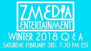 Gambar cover ZMEdia Entertainment Winter 2018 Q & A