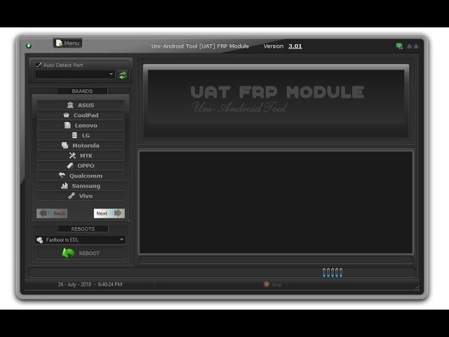 UAT FRP TOOL (Uni-Android) v3.0.1 New Crack All Mobile FRP One Click Unlock