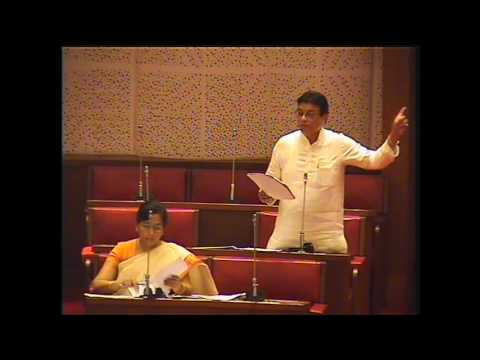 S Muzaffar Hussain (MLC) Speech in Assembly on State Infrastructure April 2016.