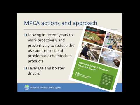Contaminant Reduction through Safer Production Chemistry - Minnesota's Initiative