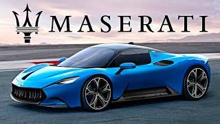 Мазерати представила своего конкурента Tesla Roadster