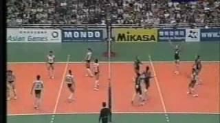 CHINA VS USA GRAND PRIX 2001 VOLLEYBALL