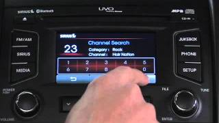 UVO System - Ch-2 FM AM and SIRIUS Modes Overview