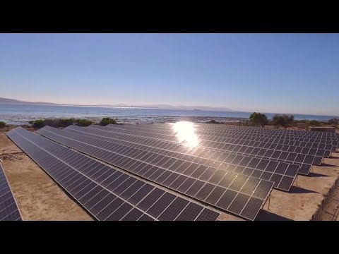 Robben Island's 666.4 kW solar PV and battery storage microgrid