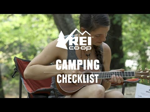 Camping Checklist || REI
