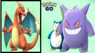 New Evolved Gengar  w/ Legendary Pokemon Gym Battle - Pokemon Go