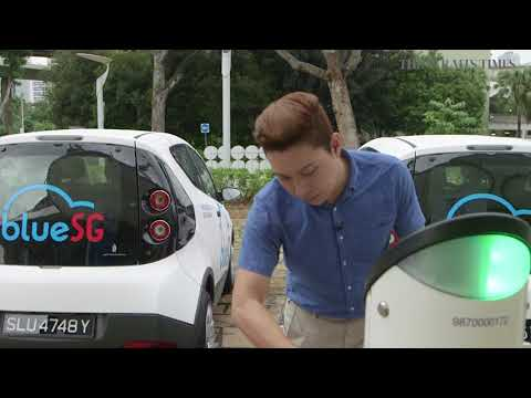 Electric car-sharing scheme kicks off in Singapore