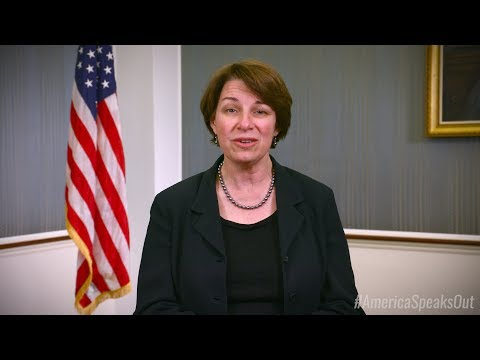 Sen Amy Klobuchar Shares Her Health Care Story -- #AmericaSpeaksOut on Trumpcare