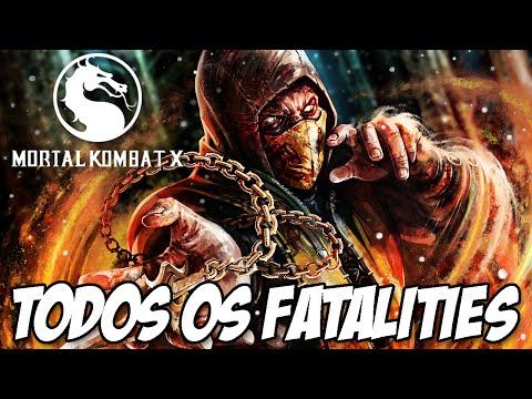 Mortal Kombat X - Todos os Fatalities