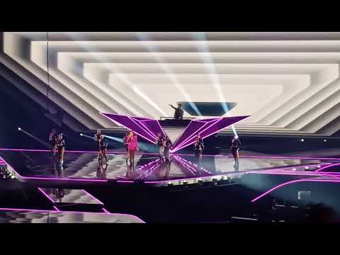 Afrojack and Glennis Grace at the grand jury final eurovision 2021! Interval act #ESC